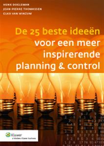 BOEK DE 25 BESTE IDEEËN VOOR EEN MEER INSPIRERENDE PLANNING & CONTROL