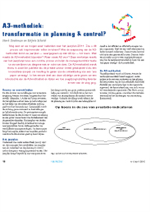 A3-METHODIEK: TRANSFORMATIE IN PLANNING & CONTROL?
